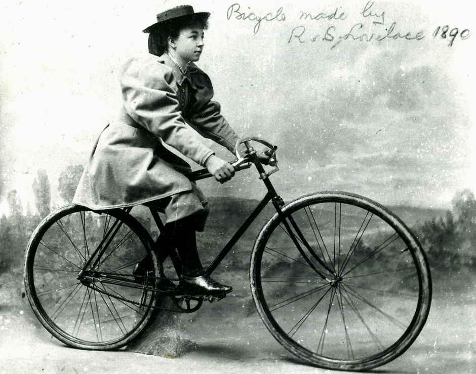 Tessie Reynolds circa 1890. Source- Wikipedia