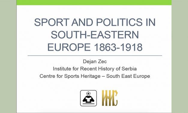 Sports and Politics in South-Eastern Europe, 1863-1918