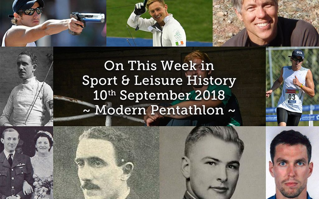 On This Week in Sport History ~ Modern Pentathlon ~