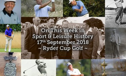 On This Week in Sport and Leisure History ~ Ryder Cup Golf