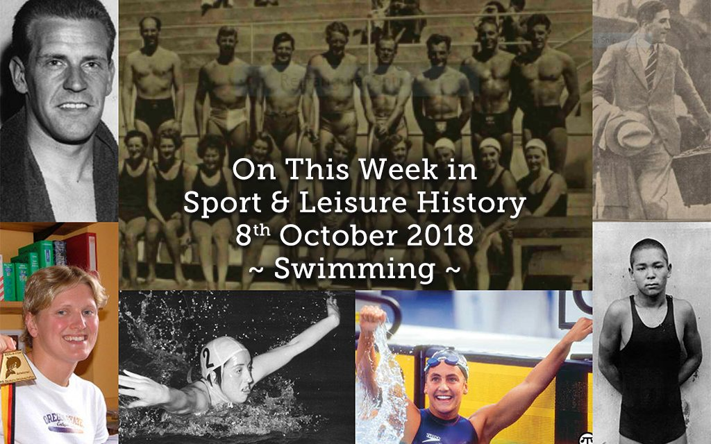 On This Week in Sport History ~ Swimming