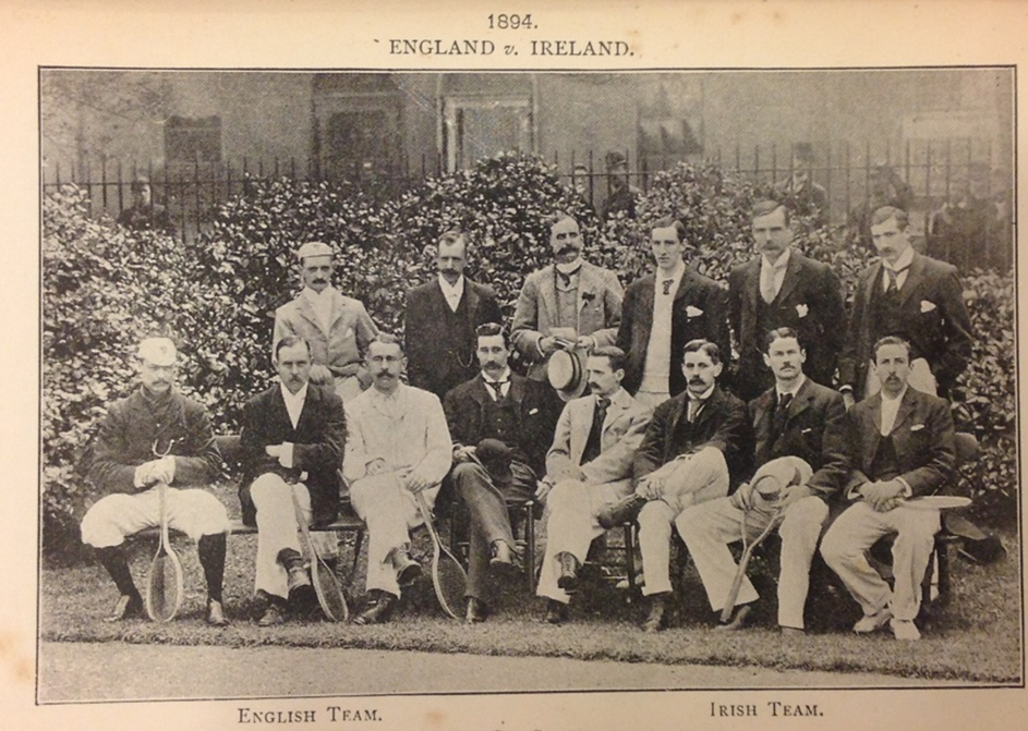 The Annual 'International' Ireland vs. England fixture 1892-1897