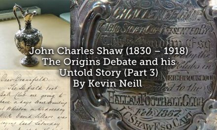 John Charles Shaw (1830 – 1918) The Origins Debate and his Untold Story (Part 3)