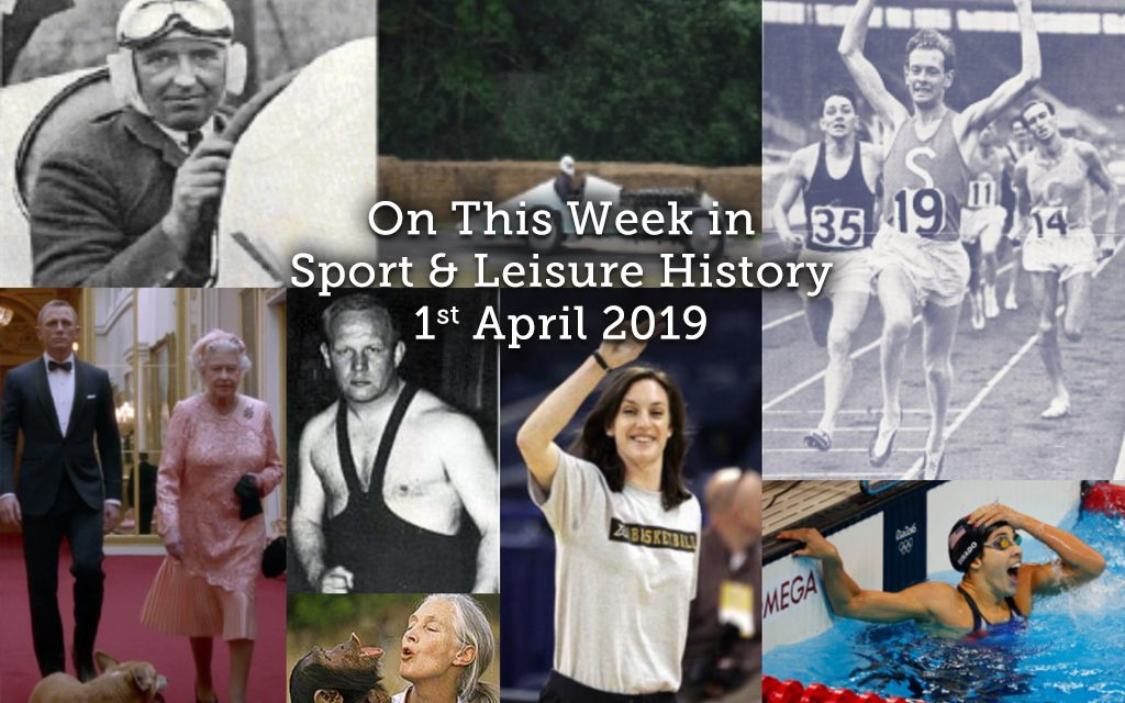 On This Week in Sport & Leisure History <br> 1st-7th April 2019