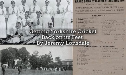Getting Yorkshire cricket back on its feet