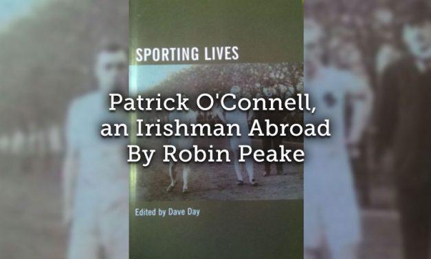 Patrick O'Connell, an Irishman Abroad