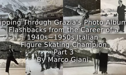 Flipping through Grazia's photo albums: <br>Flashbacks from the career of a 1940s-1950s Italian figure skating champion <br> Part 3