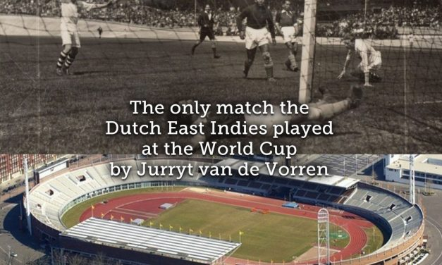 The only match the Dutch East Indies played at the World Cup