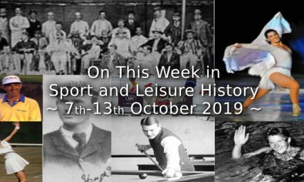 On this Week in Sport History <br> 7-13th October 2019