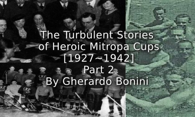 The Turbulent Stories of Heroic Mitropa Cups (1927-1942)<br>Part 2