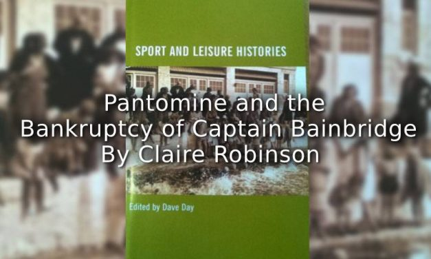 Pantomime and the Bankruptcy of Captain Bainbridge.