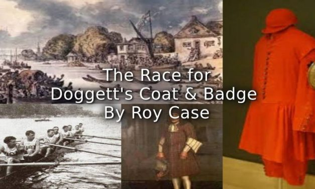 The Race for Doggett's Coat and Badge