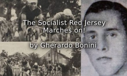 The Socialist Red Jersey Marches On!
