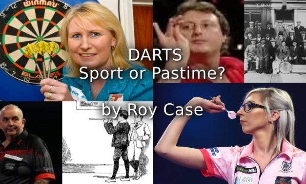Darts – Sport or Pastime?