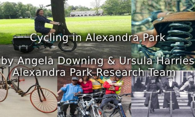 Cycling in Alexandra Park