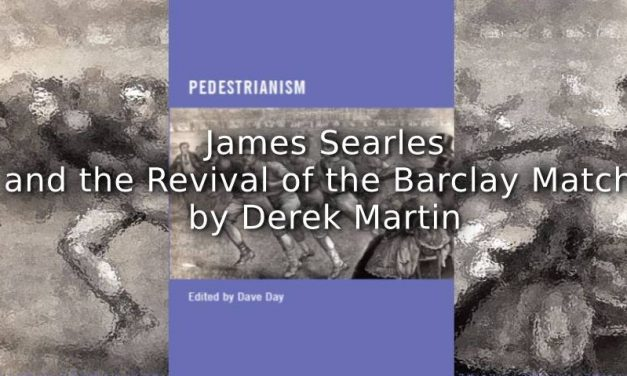 James Searles and the Revival of the Barclay Match