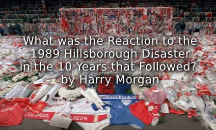 What was the Reaction to the 1989 Hillsborough Disaster in the 10 Years that Followed?