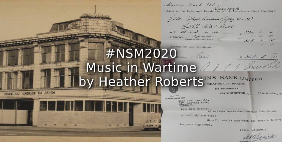 #NSM2020 – Music in wartime