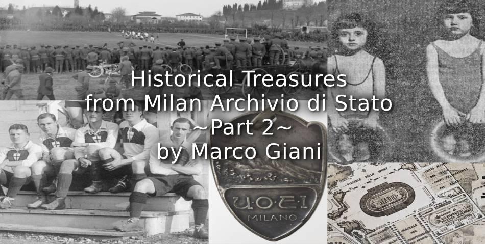 Historical Treasures from Milan Archivio di Stato<br>~ Part 2 ~