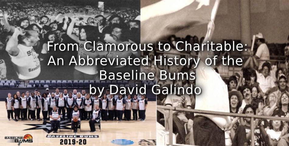 From Clamorous to Charitable:<br>An Abbreviated History of the Baseline Bums