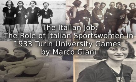 The Italian Job:<br>The role of Italian sportswomen in 1933 Turin International University Games