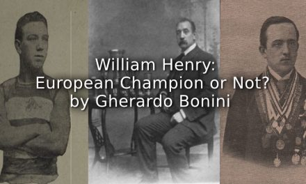 William Henry:  European Champion or Not?