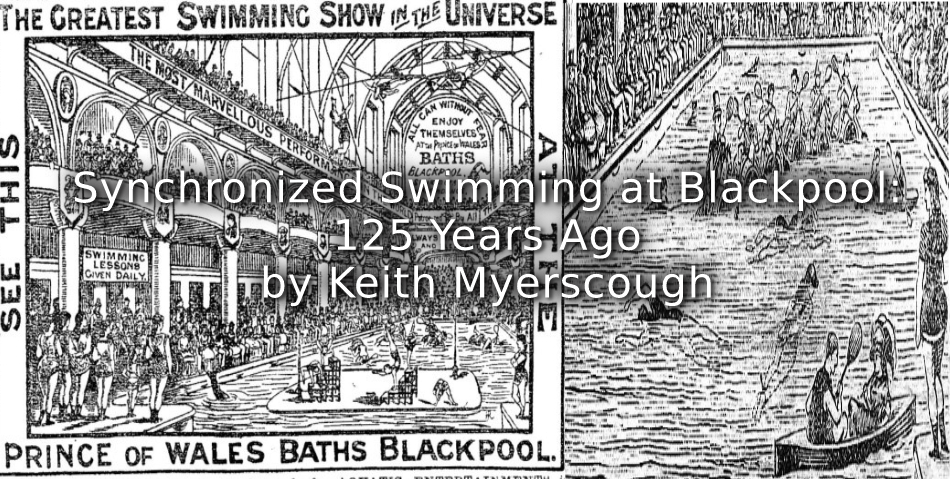 Synchronized Swimming at Blackpool: 125 Years Ago